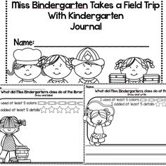 Reading street kindergarten on pinterest reading street for Miss bindergarten coloring pages