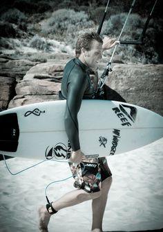 Ben Wilson the best wave kitesurfer.