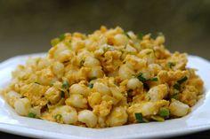 MIL ARTES MUJER: MOTE PILLO ECUATORIANO Desde la web laylita.com compartimos con ustedes este delicioso plato típico! Que lo disfrutes!