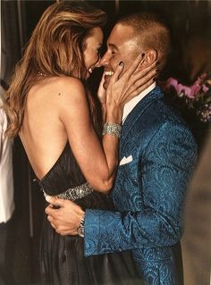 ~ friendship + love = soul mates ~ Stacy Keibler (Dancing With the Stars) and Jared Pobre share a smooch for Valentine's Day. (Credit: Instagram)