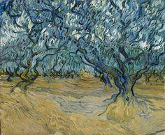 Vincent van Gogh (Dutch, 1853-1890) L'Oliveraie, St. Remy, 1889 Oil on canvas, 53,5 x 64,5 cm