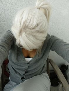 White blonde:
