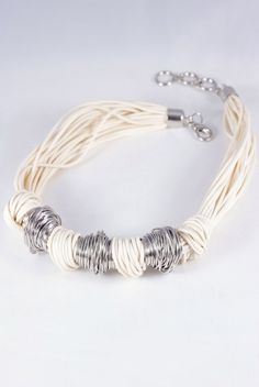 Rope Knot Detail Necklace