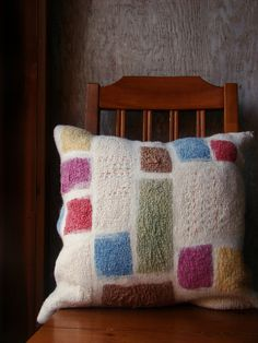 Felt Quilt Cushion Fiona Duthie