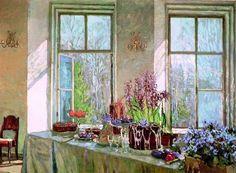 Жуковский, Пасхальный стол у окна