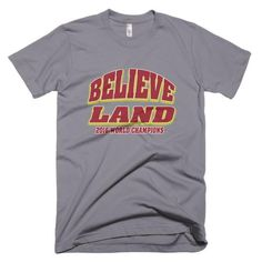 26030fb3ca5f88 Believe Land - Short sleeve men s t-shirt