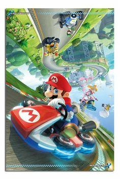 Mario Kart 8 Flip Poster