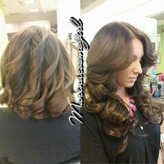 Color & extensions added — feeling beautiful at Belk Salon and Spa