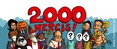 """Un dessin et un concours pour les 2000 """"likes""""; sur Facebook ! Vous voulez participer ? C'est par ici : http://www.humeurs.be/2013/11/un-dessin-et-un-concours-pour-les-2000-likes-sur-facebook/"""