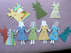 Word Family Paper Dolls - - Pinned by @PediaStaff – Please visit http://ht.ly/63sNt for hundreds of pediatric therapy pins