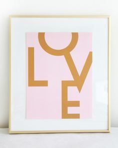 LOVE. Fun, simple DIY project for a child's room.