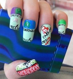 Monopoly Nails