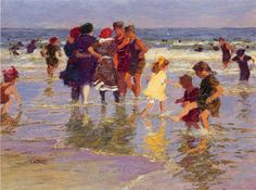 Edward Potthast - A July Day