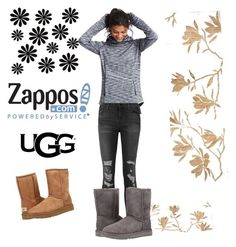 """The Icon Perfected: UGG Classic II Contest Entry"" by amiraahmetovic ❤ liked on Polyvore featuring Gap, WALL, J Brand, UGG Australia, ugg and contestentry"