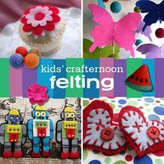 Kids Crafternoon Felting
