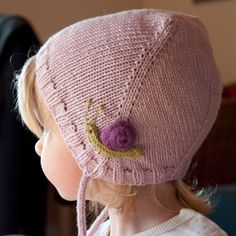 Top Down Bonnet Free Pattern
