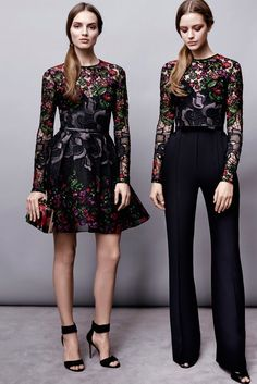Elie Saab Pre-Fall 2015 - Slideshow Beautiful work from Elie Saab for Fall 2015...gorgeous colour and shapes! I just hate the fur.