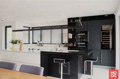 Het kantoor van een interieurontwerper kan natuurlijk niet zonder