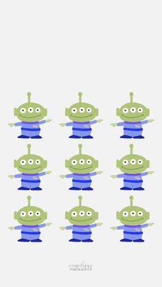 iPhone wallpaper design • toy story- alien • http://blog.naver.com/parksuyeon52