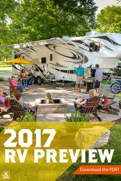 Download our 2017 RV Preview to see what's new in RVs!