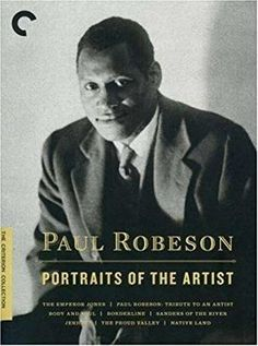 Paul Robeson & Edward Chapman & Dudley Murphy & Kenneth MacPherson-Paul Robeson: Portraits of the Artist