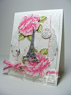 Stampin' Up! Card by Yvette Ashe: Artistic Etching
