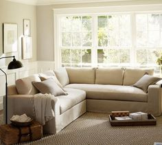 A small living room can provide a couple of style obstacles, however with the right style ideas, small rooms can be changed to create splendid living rooms. See our best living room design that can give you the best inspiration ! Living Tv, Living Room Carpet, Small Living Rooms, Living Room Sofa, Rugs In Living Room, Apartment Living, Living Room Designs, Cozy Apartment, Apartment Therapy