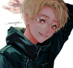 Image in anime-manga boy♣︎ collection by zillion Manga Anime, Anime Nerd, Anime Boys, Manga Boy, Cute Anime Boy, Anime Guys With Glasses, Tamako Love Story, Images Harry Potter, Image Manga