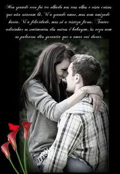Meu grande erro foi ter olhado nos teus olhos e visto coisas que não estavam lá. Vi o grande amor, mas nem amizade havia. Vi a felicidade, mas só a tristeza ficou. Tentar adivinhar os sentimentos dos outros é bobagem, às vezes nem as palavras dão garantia que o amor vai durar.
