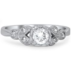 Engagement ring-The Cate Ring from Brilliant Earth