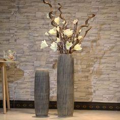 Floor Vase Decor, Vases Decor, Glazed Ceramic, Ceramic Vase, Large Floor Vase, Funny Bathroom Art, Egg Designs, Vase Fillers, Ceramic Flowers