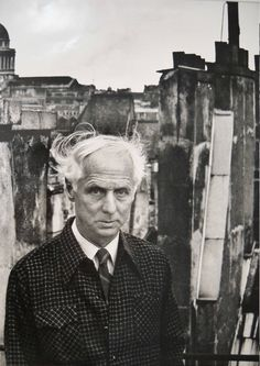 Max Ernst. Circa 1954. Denise Colomb