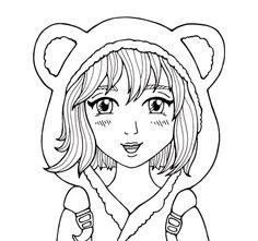 Anime Manga Zum Ausmalen Maia