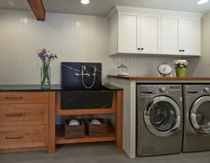 Yes to This Laundry Room | Content in a Cottage