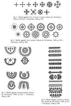 Croatian traditional tattoo symbols- so cool to explore other cultures' traditional ink! Croatian Tattoo, German Tattoo, Finnish Tattoo, Berber Tattoo, Tattoo Henna, Ethnic Tattoo, Filipino Tribal Tattoos, Indian Tattoos, Traditional Tattoo Symbols