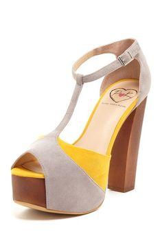 Leena Chunky High Heel by Penny Loves Kenny on @HauteLook