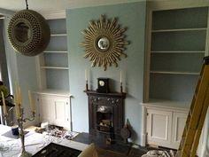 double alcove cupboards, Alcove Cupboard, Alcove bookcase, Alcove Shelving, bespoke cupboards