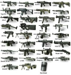 Pick 2 weapons for home abduction! I'd personally pick a riot shield with duo. Ninja Weapons, Weapons Guns, Guns And Ammo, Military Gifts, Military Weapons, Armas Wallpaper, Custom Guns, Weapon Concept Art, Cool Guns