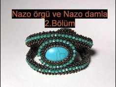 Nazo weaving technique and Nazo drop Part can find Weaving and more on our website.Nazo weaving technique and Nazo drop Part Diy Beaded Rings, Beaded Cuff Bracelet, Beaded Jewelry, Ring Tutorial, Bracelet Tutorial, Beading Tutorials, Beading Patterns, Peyote Beading, Weaving Techniques