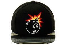 The Hundreds Adam Bomb Stripe Snapback Hat Bag Clips, The Hundreds, Caps For Women, Mens Caps, Eminem, Snapback Hats, Caps Hats, Baseball Cap, Mittens