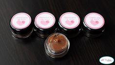 chocolate lip gloss - instructions & printable