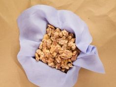 Recipe for Vanilla-cinnamon Almonds from CookingChannelTV.com. A jar of these would make a great homemade gift