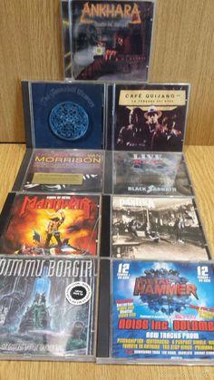 LOTE 9 CDS CON MARCAS DE USO / BASTANTE ACEPTABLES - NO COMPROBADOS. / OCASIÓN.
