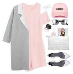 """#876"" by maartinavg ❤ liked on Polyvore featuring Monki, Zara, Herbivore, Miss Selfridge, Maison Margiela, NARS Cosmetics and Illesteva"