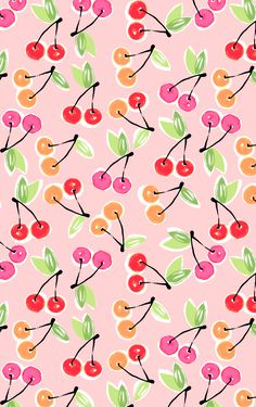 Love this cute little fruit pattern.
