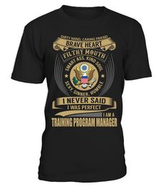 Training Program Manager