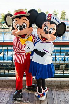 Disneyland Summer 2013 - End of Summer Party at the Pier with Mickey & Minnie Mouse