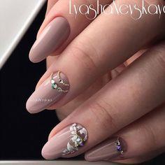 Nail Jewels, Nail Art Rhinestones, Rhinestone Nails, Bling Nails, Diva Nails, Gem Nails, Chic Nails, Bridal Nail Art, Foil Nail Art