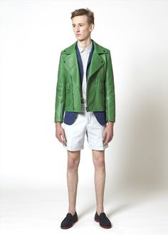 Carven Homme SS13 Collection.  That Jacket!!!!