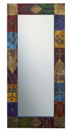lustro orientalne zdobione 120x60